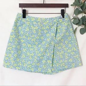 Liz Claiborne  Floral Wrap Shorts  Skort Petite